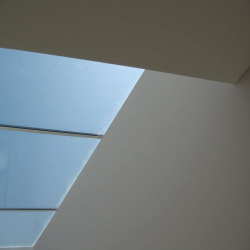 minimal frame skylight